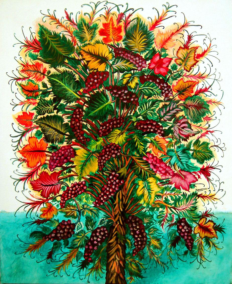 Patrice Lannoy Tableau Realiste Figuratif Nature Morte Reproduction Seraphine De Senlis Peintures Sur Toile